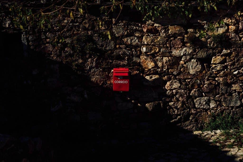 Marco de correio em Ferraria de São João