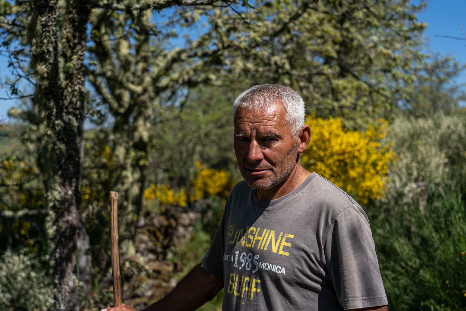 Afonso Correia, pastor em Campo Benfeito
