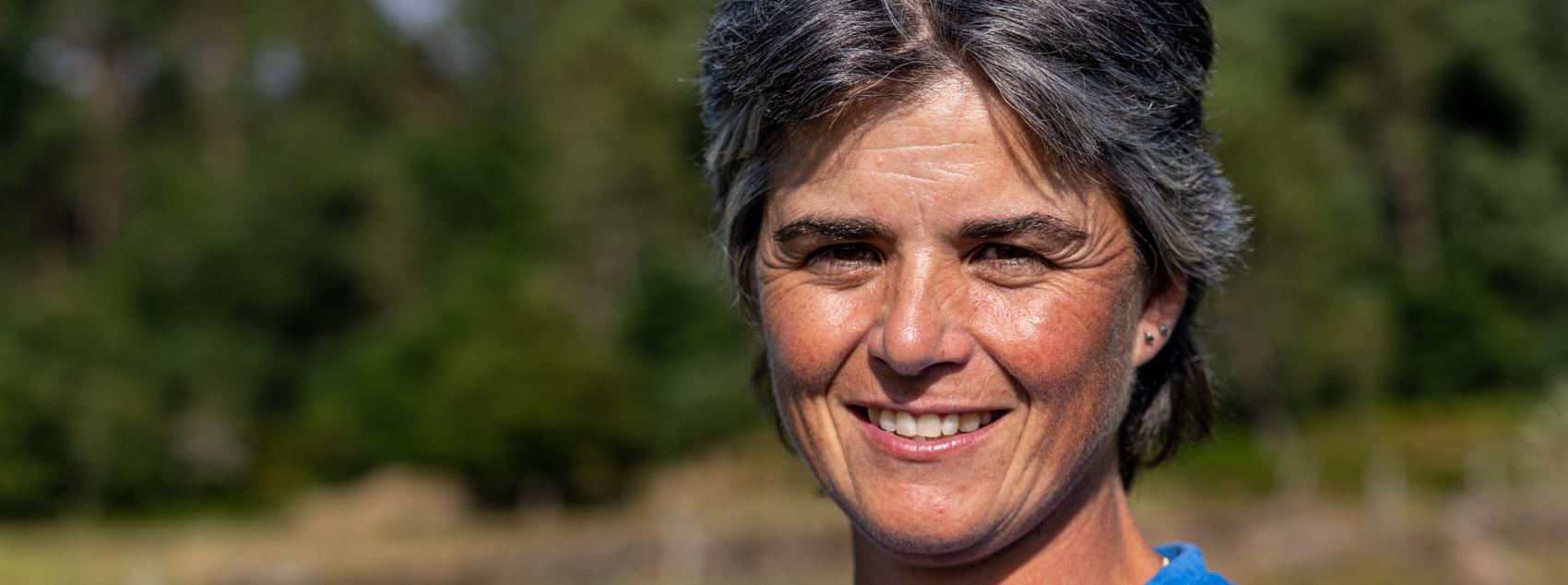 Sandra Gonçalves, pastora em Arga de Cima